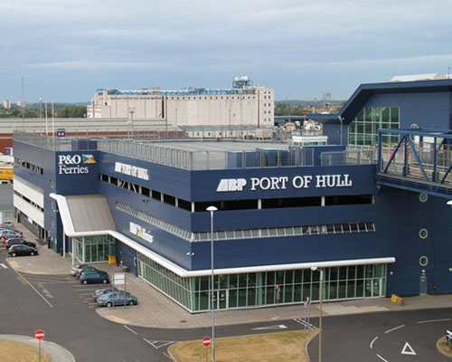 Hull Ferry Port